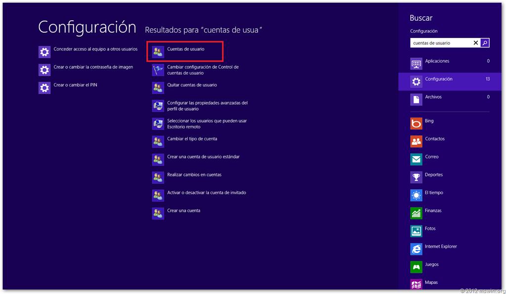 Win0027 creando un reset password disk en windows 8 para - Restablecer contrasena ...